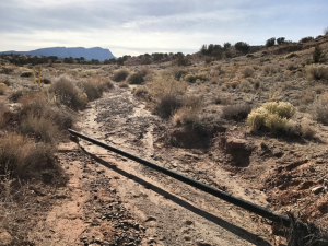 Exposed Pipelines in Placitas